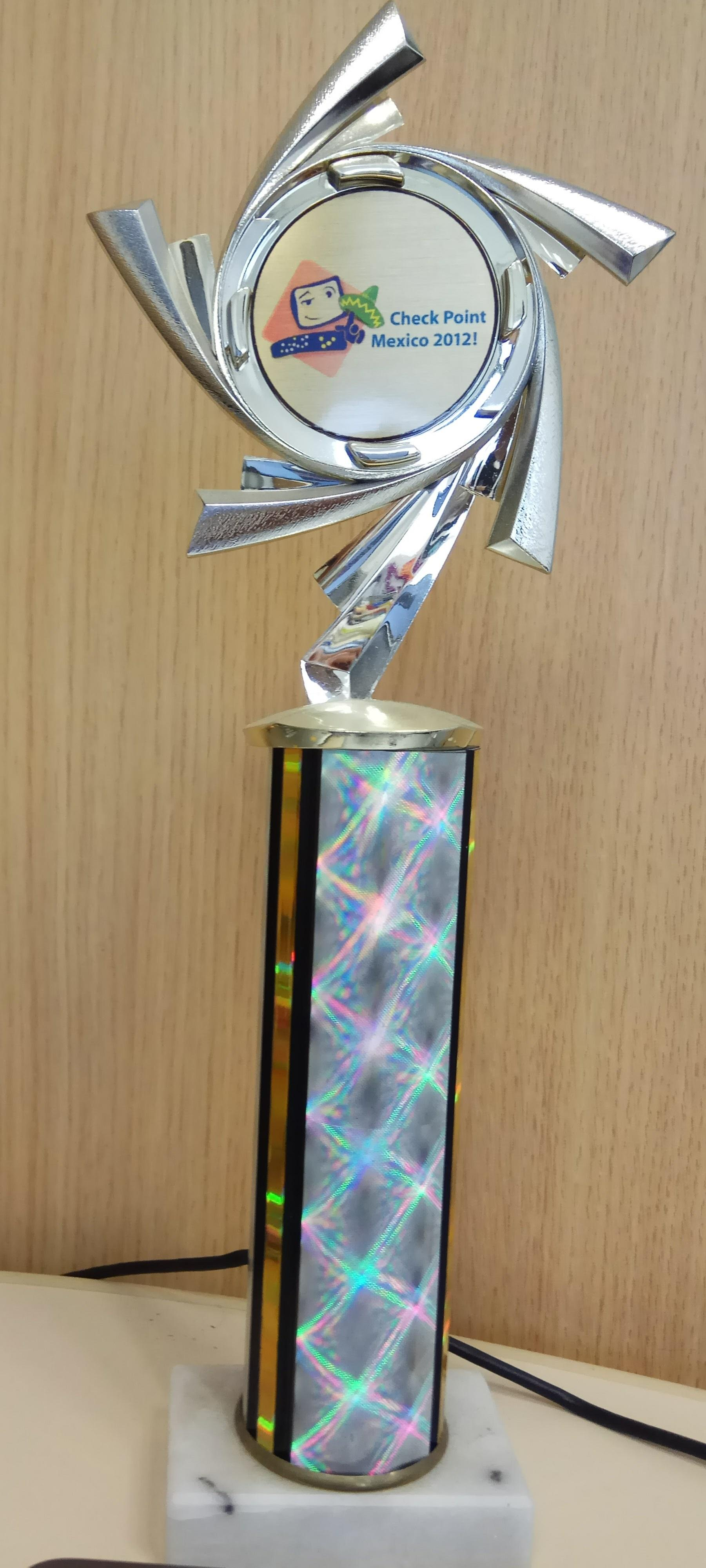 Mexico 2012 Trophy