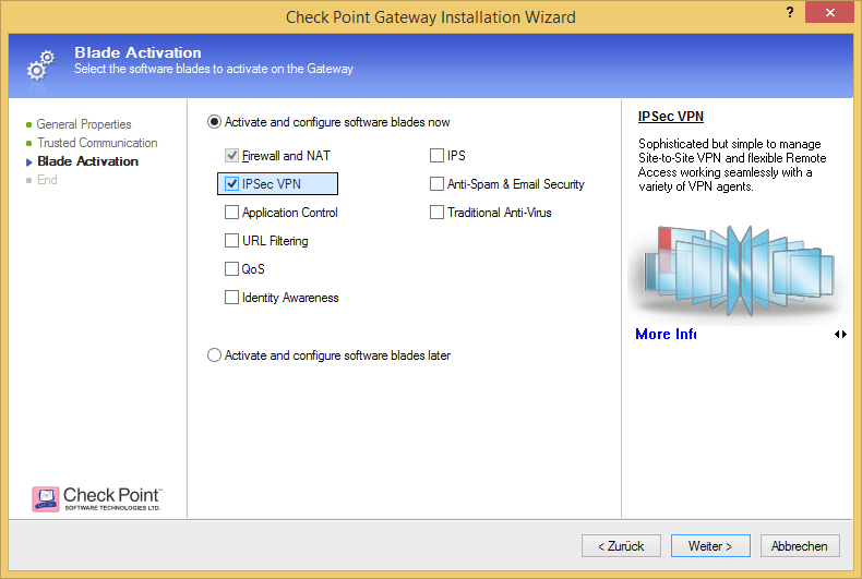 HowTo Set Up Certificate Based VPNs with Check Poi