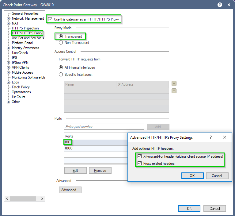 How to configure Check Point Security Gateway as H    - Page