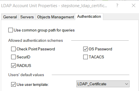 remote client VPN authentication with Certificate - Check Point