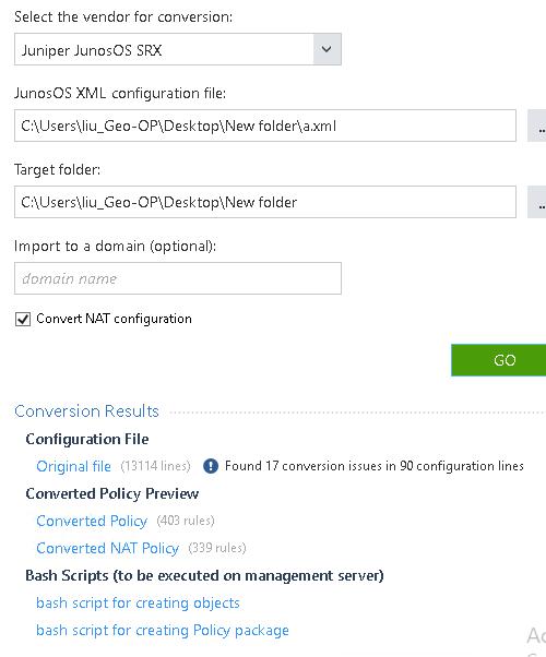 Solved: SmartMove not support juniper HA config - Check
