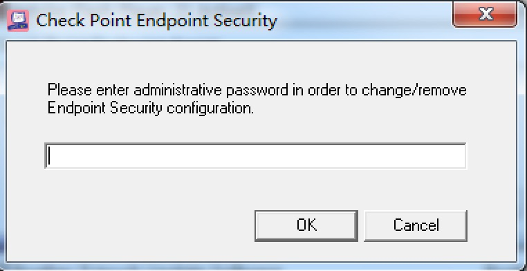 how uninstall endpoint client - Check Point CheckMates