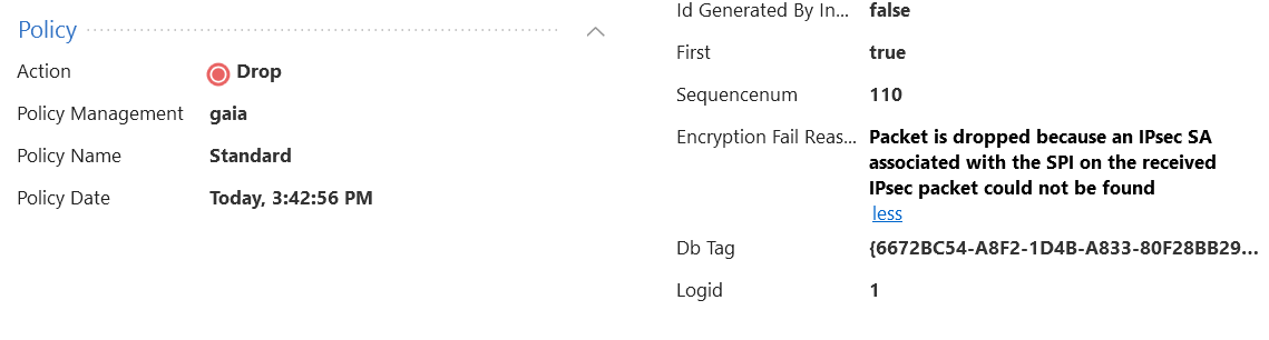 dns request not passing on s2s vpn - Check Point CheckMates
