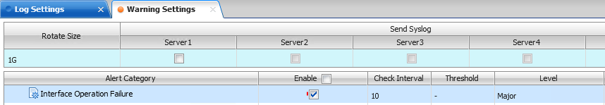 Solved: How to check interfaces operation failure(down) lo