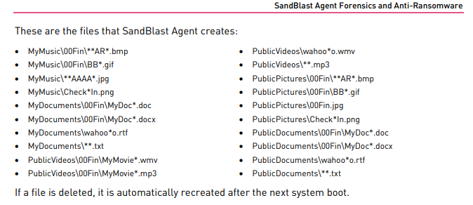 SandBlast agent poor documentation - Check Point CheckMates