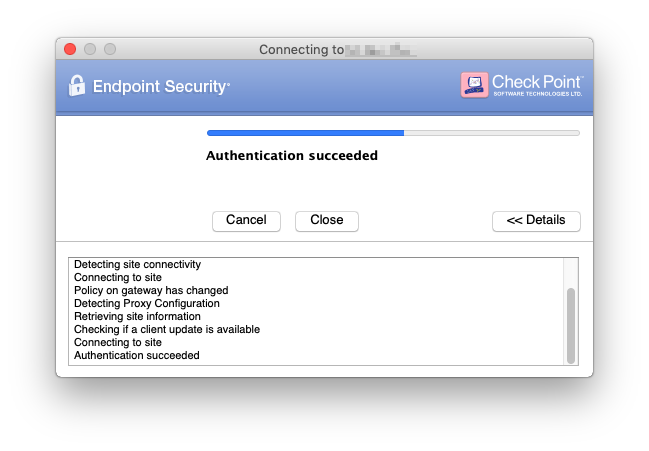 Check Point Endpoint Security Client E80 89 for MA