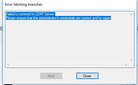 Can I use an openldap database against captive por