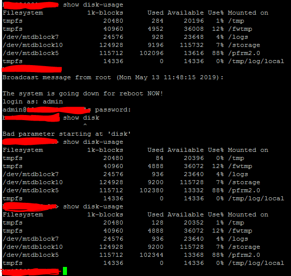 Solved Low Disk Space On Pfrm2 0 Check Point Checkmates