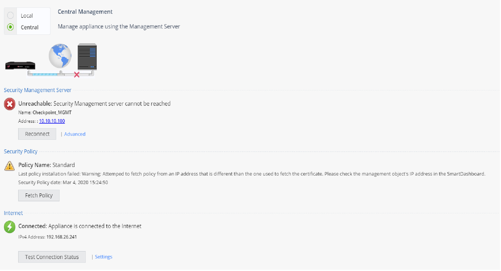 central management can't connect to SMS.png