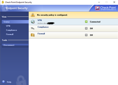 Endpoint Security Vpn