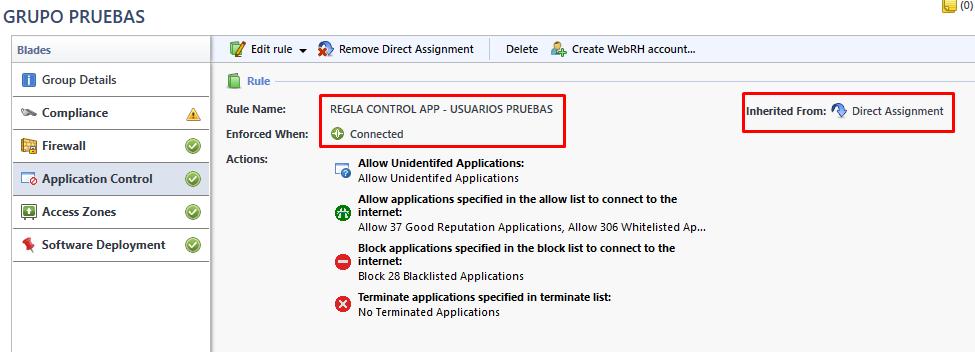 App Control Rules