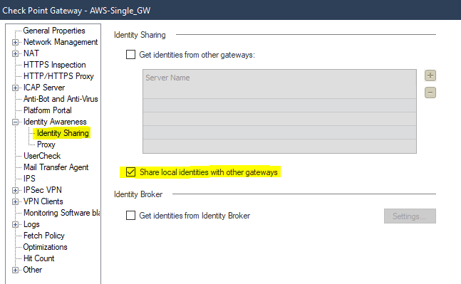 this is done on the On-Prem previously configured AD-Query GW