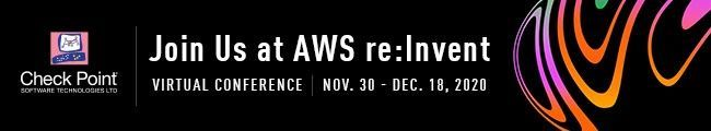 Check Point at AWS re:Invent 2020